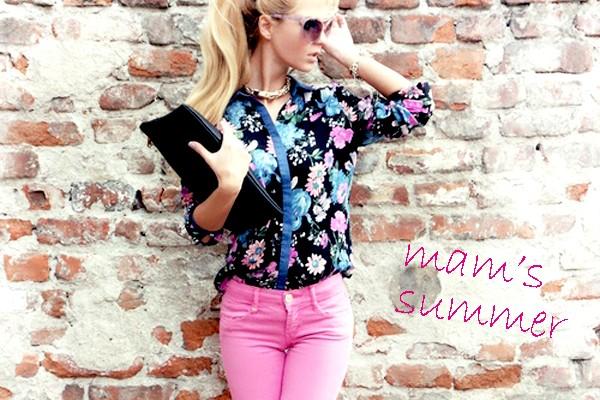 着回し夏のママファッション平日5days!