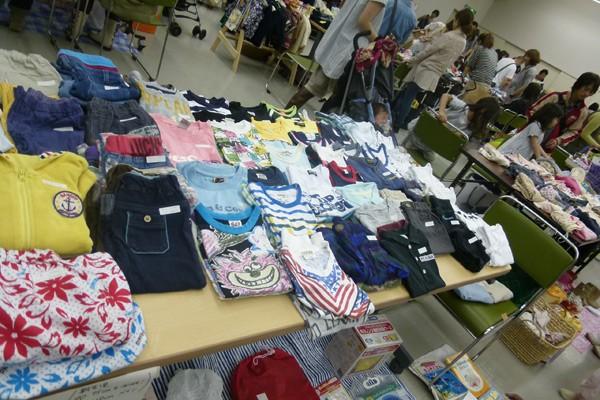 10月8日兵庫県★多胎児のためのリサイクルバザー