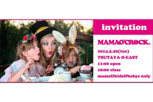 5月20日 東京MAMA O`CROCK