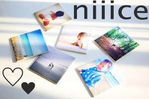 大切な思い出を飾って楽しむフォトタイル『niiice』