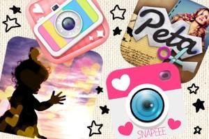アプリ『みんなのシール』と相性バッチリな『画像編集・加工アプリ』4選★
