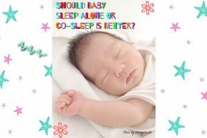 メリット総ざらい!赤ちゃんは一人寝と添い寝はどっちがいいの?