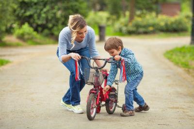 自転車に乗る コツ