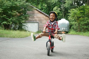 時間がかかっても大丈夫♪初めての自転車練習エピソード