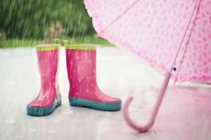 雨の日を楽しく安全に!正しい子ども用雨具の選び方