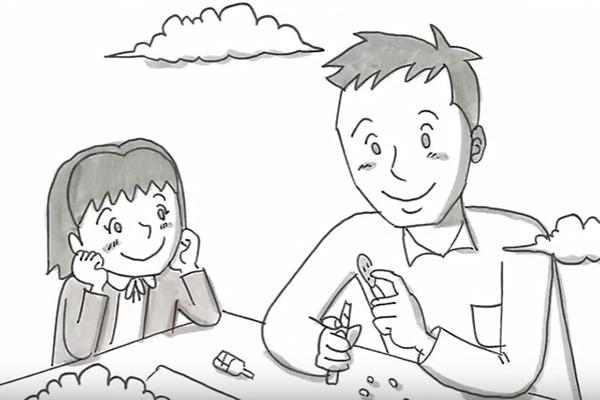 鉄拳の最新パラパラ漫画『お父さんは愛の人』に感動の涙が止まらない!