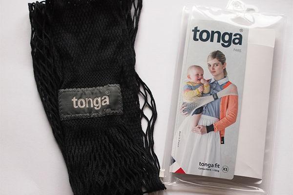 ポケットサイズで装着もかんたん!フランスの簡易抱っこひも『トンガ』が便利すぎる!