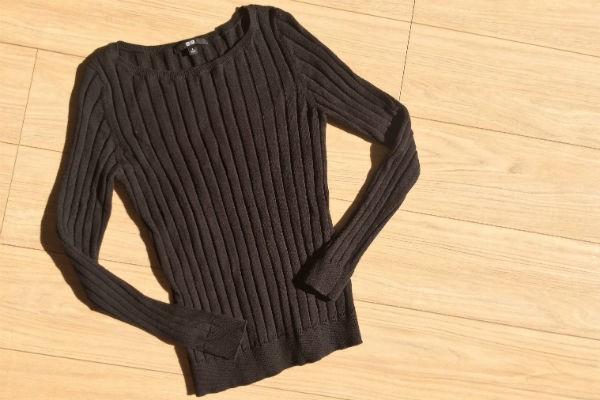 売り切れ続出!ユニクロの『コットンカシミヤワイドリブセーター』が超優秀!!