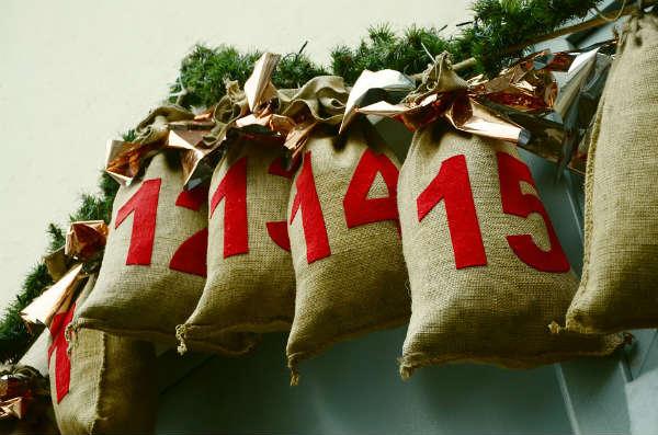 アドベントカレンダーで、12月は毎日がクリスマスへの特別な毎日に!!