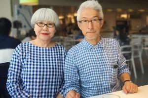 目指すならこんな夫婦!60代オシャレ夫婦のリンクコーデが素敵すぎる♪