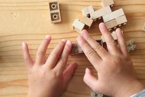 【5名様にプレゼント】癒し効果から右脳開発まで!木のブロック『もくロック』は子どもにメリットがいっぱい!