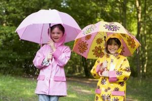 雨の日の通園・通学に!キッズ用レインウェアの選び方のポイントは?