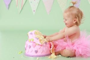 1歳の誕生日ケーキを作っちゃおう!ママたちの作品アイデア集