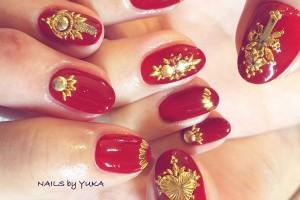 指先に赤を。秋にぴったりな女心をくすぐるレディライクな赤ネイル特集!