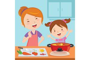 """「私も料理したい!」2~3歳児のお手伝いは、""""とのさまかこむ""""がポイント!"""