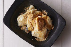もちもち食感がたまらない『お豆腐きなこわらび餅』レシピ【白砂糖不使用のやせるおやつvol.8】