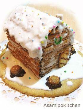 お菓子の家レシピ