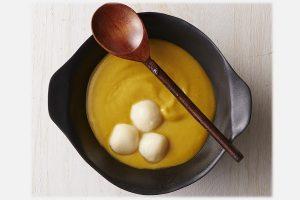 自然の甘みが嬉しい『ほっこりかぼちゃぜんざい&豆腐白玉』レシピ【白砂糖不使用のやせるおやつvol.12】