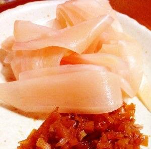 新生姜の甘酢漬けレシピ